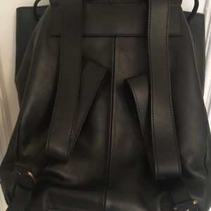 Madewell Transport Rucksack - Black Leather